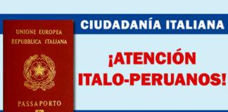 citas ciudadania italiana
